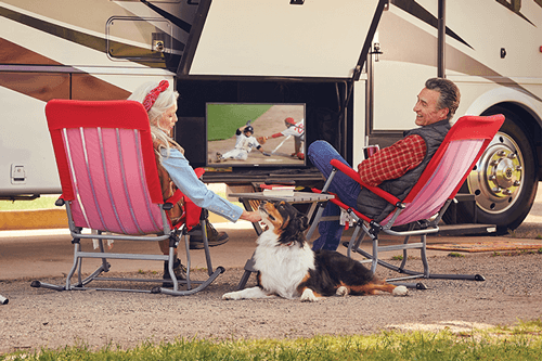 Watch DISH TV Outdoors in the RV- DOWAGIAC, MI - Hale's True Value Hardware - DISH Authorized Retailer